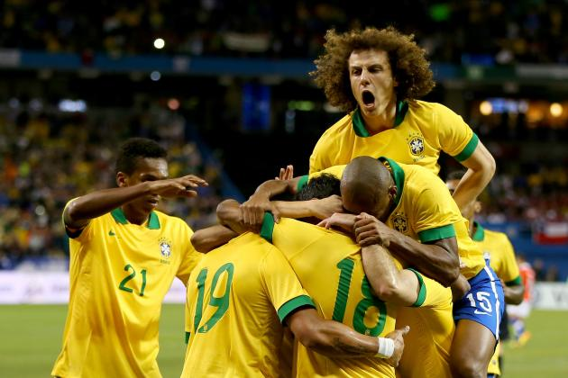 Brazil Close Year in Style and Look Ahead to 2014 World Cup