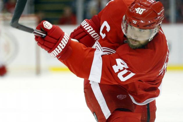 Henrik Zetterberg Says Red Wings Playing Like Robots, Need to Relax