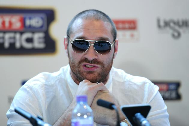 Tyson Fury's Twitter Account Announces Retirement in Profane Outburst