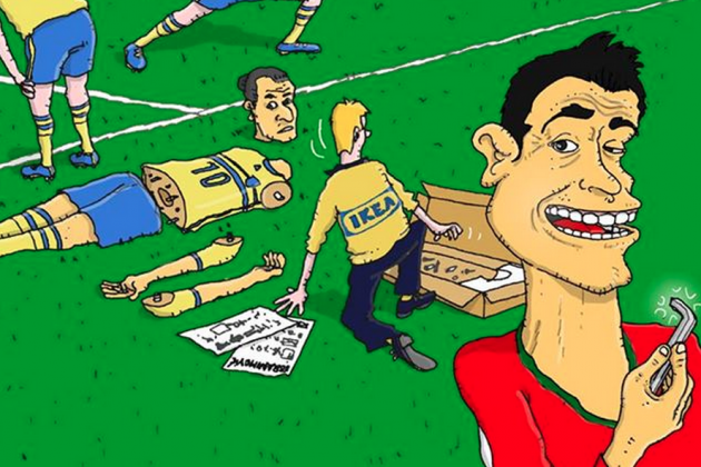 Cristiano Ronaldo Cartoons Go Viral After World Cup Hat Trick for Portugal