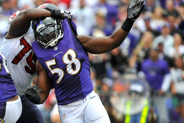 Ravens' Streak of Sacking Opponents Ends vs. Chicago
