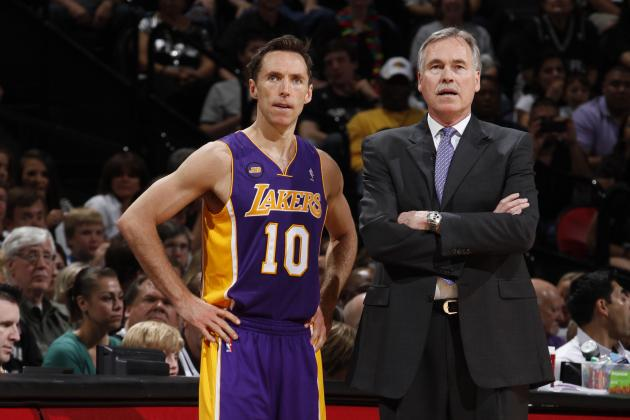 Without Steve Nash, Is There Any Hope for Mike D'Antoni?