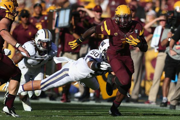 Balanced Arizona State Back Marion Grice Has Legendary Record in Sight