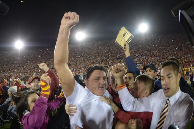 After What He's Done, Ed Orgeron Deserves a Chance to Be USC's Head Coach