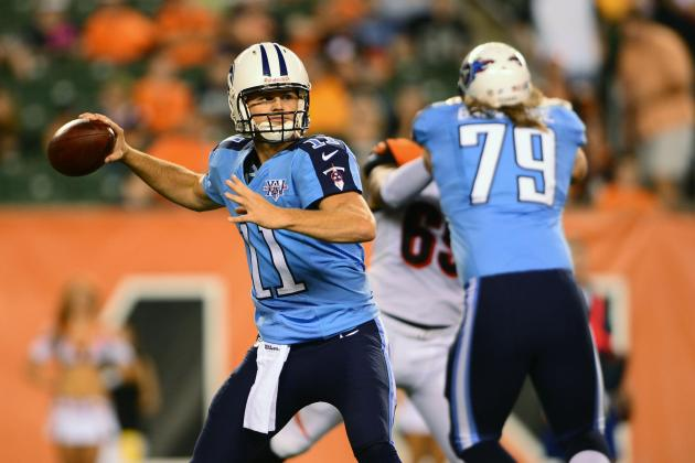 Munchak: Rusty Smith Continues Backup QB Role Behind Ryan Fitzpatrick