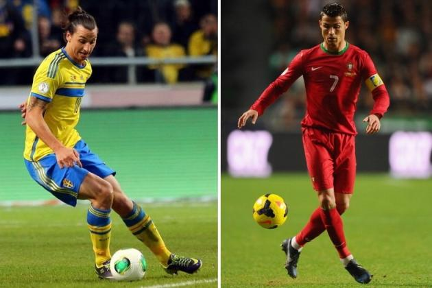 Ronaldo vs. Ibrahimovic: What Portugal's Win Means for the Pair of Them