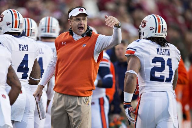 Auburn's Gus Malzahn Reveals Awesome Name & Origin of Game-Winning Play vs. UGA