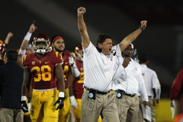 Ed Orgeron, Nick Saban, Others Named Semi-Finalists for Maxwell Coach of Year