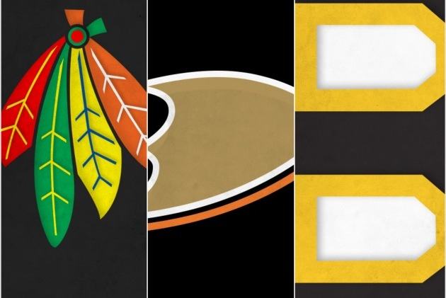 Designer S. Preston Chuhon Creates Minimalist NHL Logos