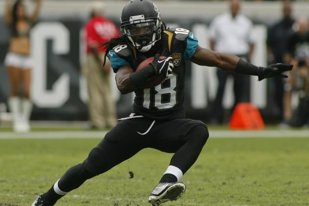 Jaguars Rookie Receiver Ace Sanders Shows Good Signs, but Work Remains