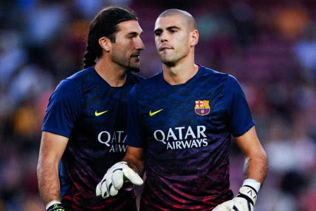Victor Valdes Injured: Barcelona Given Another Headache Thanks to Injury