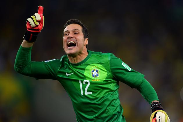 Manchester City Transfer Move for Julio Cesar Makes Sense in the Short Term
