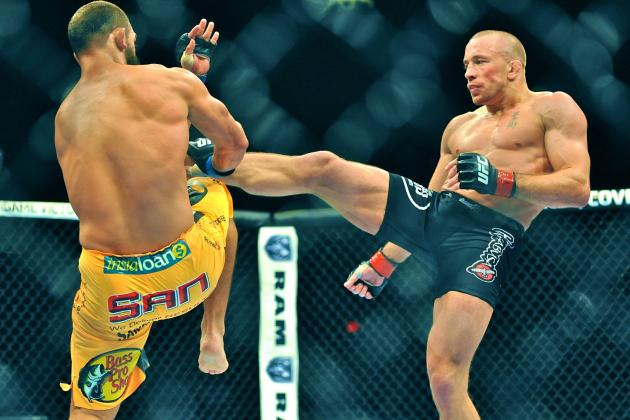 Georges St-Pierre's UFC 167 Breakdown Highlights Pressures of Being Best