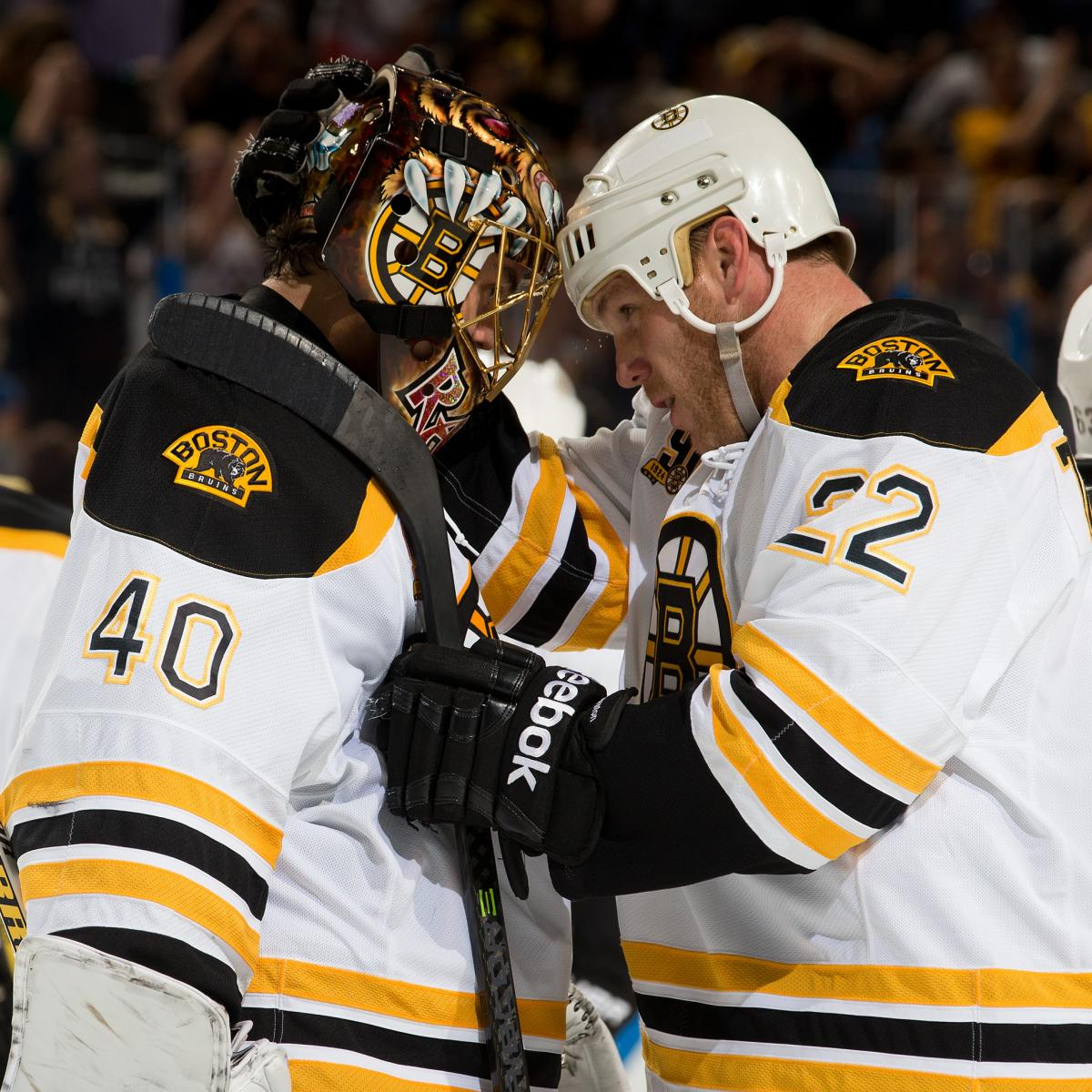 Report Card For The Boston Bruins At The Quarter Mark Of