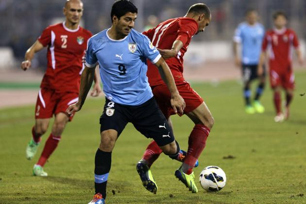 Uruguay vs. Jordan: Score, Grades and Post-Match Reaction