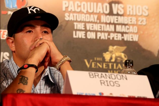 Brandon Rios Has Nothing to Lose in Bout with Manny Pacquiao
