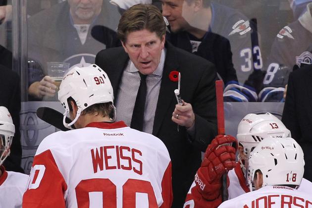 Detroit Red Wings: Is Coach Mike Babcock's Message Getting Stale?