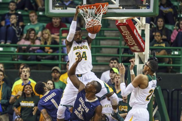 No. 20 Baylor Beats Charleston Southern 69-64