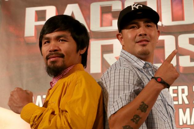 Pacquiao vs. Rios Odds: Smartest Bets to Consider for Saturday's Fight