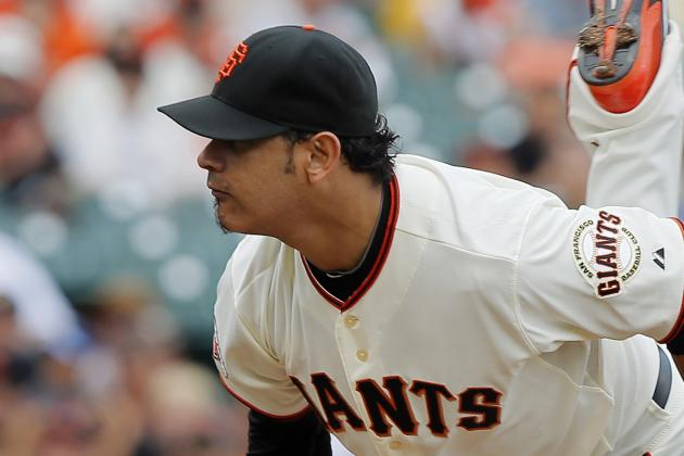 Giants Designate Guillermo Moscoso for Assignment