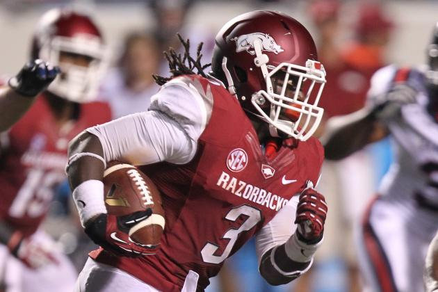 Arkansas Football: Why Alex Collins Is Razorbacks' MVP for 2013