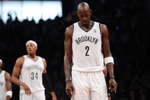 Kevin Garnett: Nets Can't Just Keep Talking, Action Needed