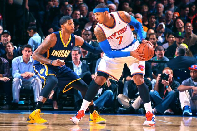 Why Paul George's Team Wins and Carmelo Anthony's Doesn't