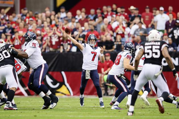 Jacksonville Jaguars vs. Houston Texans: Breaking Down Houston's Game Plan