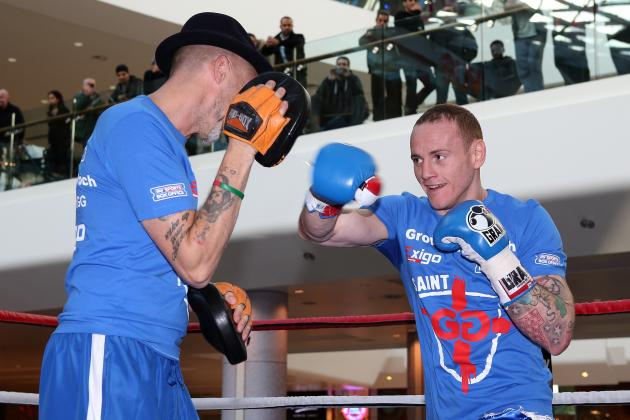 George Groves Aims Huge Dig at Adam Booth Ahead of Carl Froch Fight