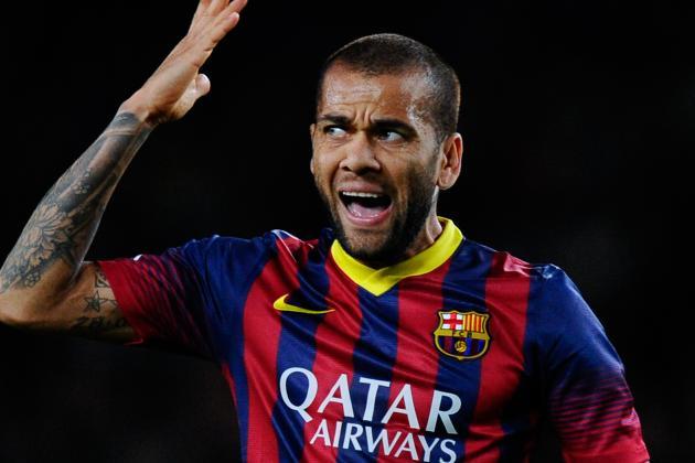 Dani Alves Injury: Updates on Barcelona Star's Leg, Likely Return Date