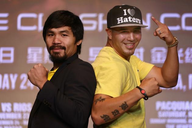 Pacquiao vs. Rios Predictions: Smartest Bets That Will Fatten Your Wallet
