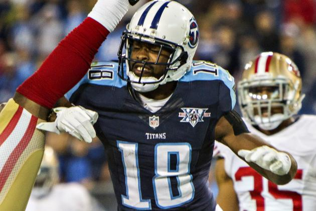 Tennessee Titans' Kenny Britt Says He Won't Show His Frustration