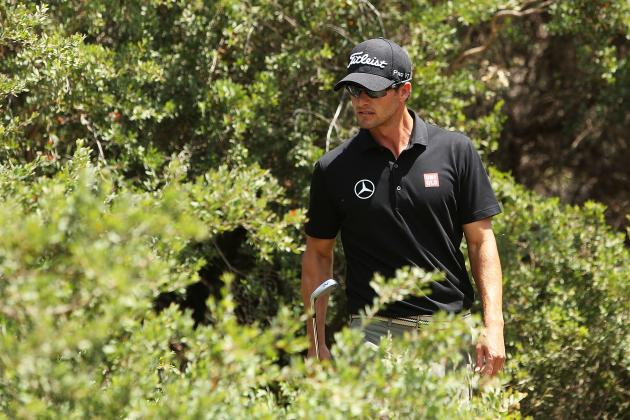 Adam Scott Stuggles at Royal Melbourne in World Cup