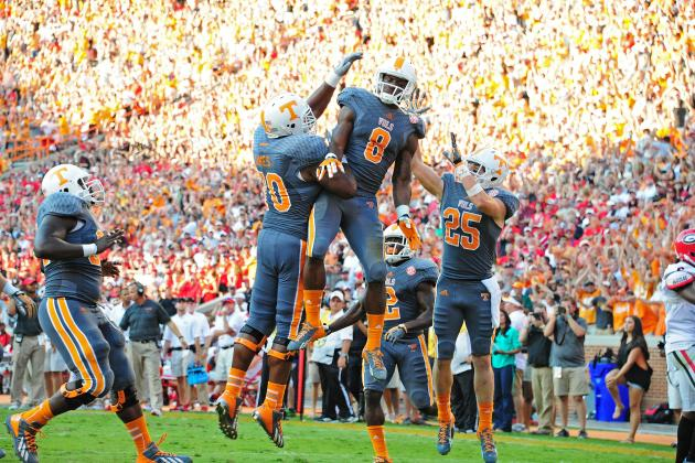 Tennessee vs. Vanderbilt: Time to See How Butch Jones' Vols React to Pressure