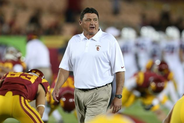 Hey Pat Haden, If You Like 5-Star Recruits, You Better Hire Ed Orgeron