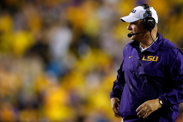 What Happens to Les Miles' Job Status If LSU Finishes 2013 Unranked?