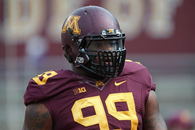 Linemen Preparing to Face Gophers' 'Freakish' Ra'Shede Hageman