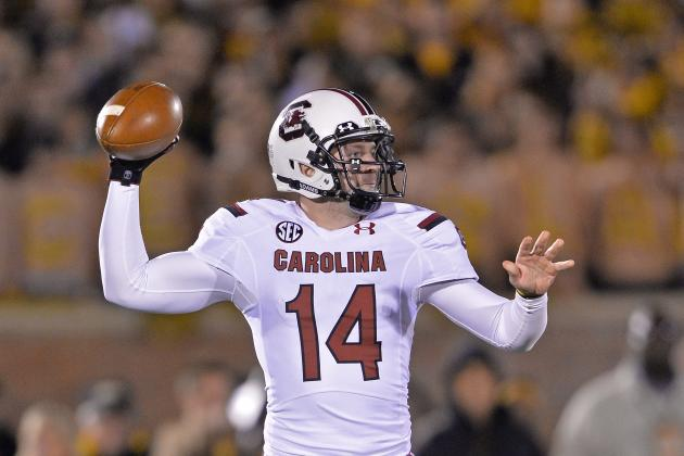 South Carolina Football: Is Spurrier Trying to Keep Connor Shaw in the Pocket?