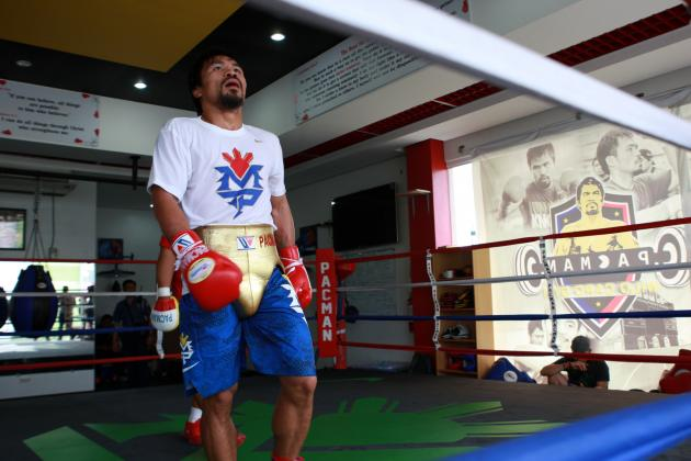 Manny Pacquiao Will Benefit from Time off in Upcoming Fight with Brandon Rios