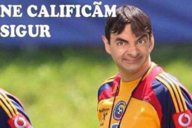 Photo: Adrian Mutu Banned from Romanian Team After Comparing Manager to Mr. Bean