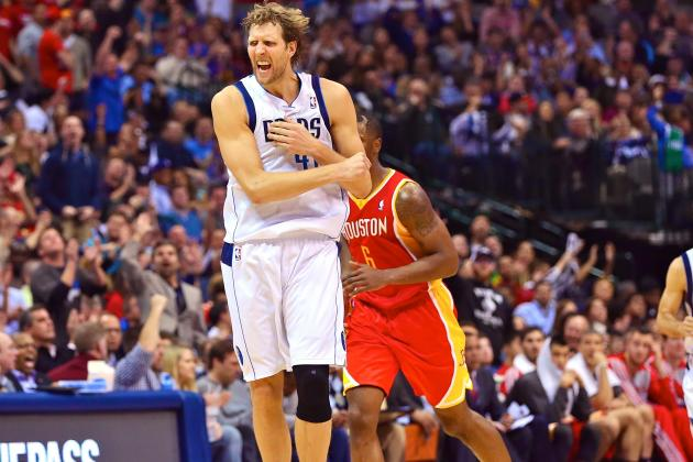 Dirk Nowitzki Passes Reggie Miller for 15th on All-Time Scoring List