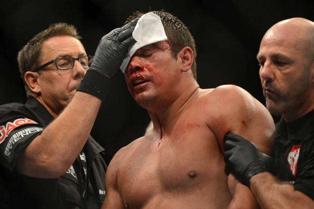 UFC 168 Opponents Del Rosario and Inocente Injured, Removed from Card