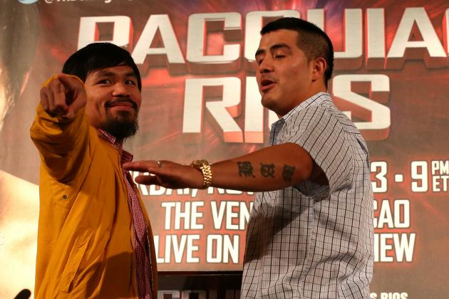 Pacquiao vs. Rios: Pac-Man Will End Drought by Stopping Bam Bam