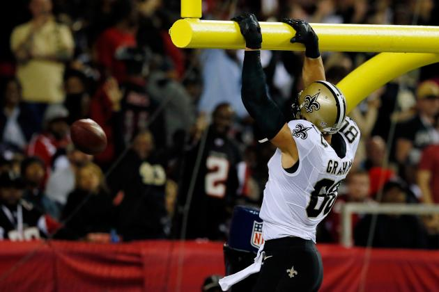 Jimmy Graham's Instant Fantasy Reaction After Week 12 Performance vs. Falcons