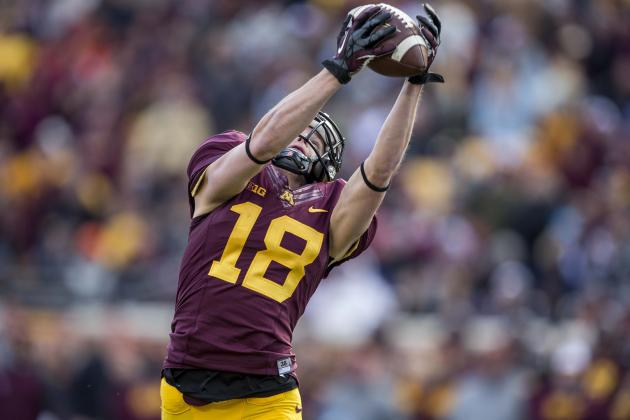 WR Derrick Engel's Status Still in Doubt for Showdown with Wisconsin