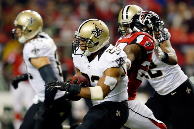Pierre Thomas' Updated 2013 Fantasy Outlook After Week 12