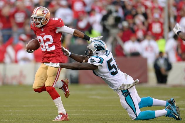 Breaking Down Mario Manningham's Impact in First 2 Games with 49ers in 2013