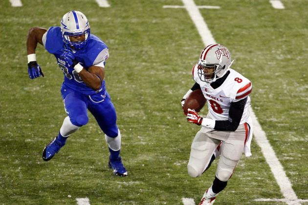 Cornett Leads UNLV to 41-21 Win over Air Force