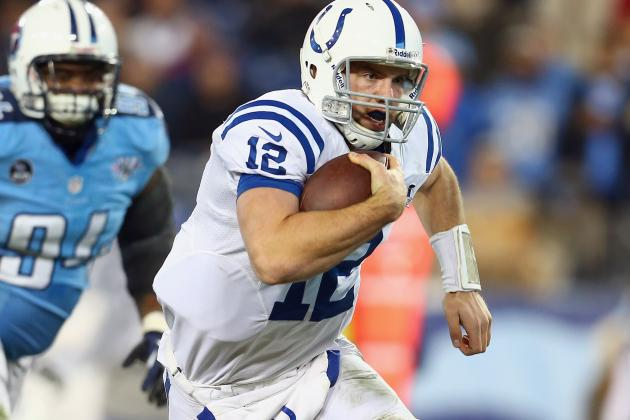 Cardinals Must Worry About Andrew Luck's Legs as Well as His Arm