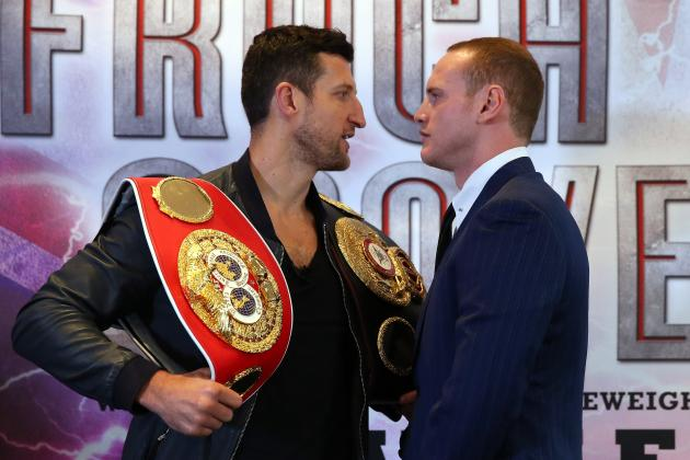 Carl Froch vs. George Groves: Complete Weigh in Results from Pre-Fight Event
